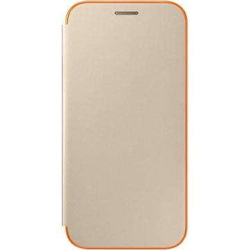 Чехол Samsung Flip Cover EF-FA520P Gold (для Samsung SM-A520 Galaxy A5 2017)