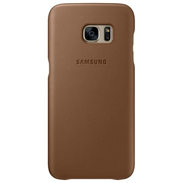 Чехол Samsung Leather Cover EF-VG935L Brown (для Samsung SM-G935F Galaxy S7 Edge)