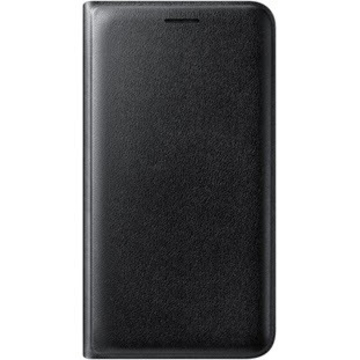 Чехол Samsung Flip Wallet EF-WJ120P Black (для Samsung J120 J1 2016)