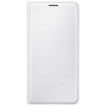 Чехол Samsung Flip Wallet EF-WJ710P White (для Samsung SM-J710 Galaxy J7 2016)