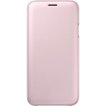 Чехол Samsung Wallet Cover EF-WJ730C Pink (для Samsung SM-J730 J7 2017)