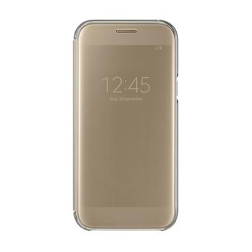 Чехол Samsung Clear View EF-ZA520C Gold (для Samsung SM-A520 Galaxy A5 2017)
