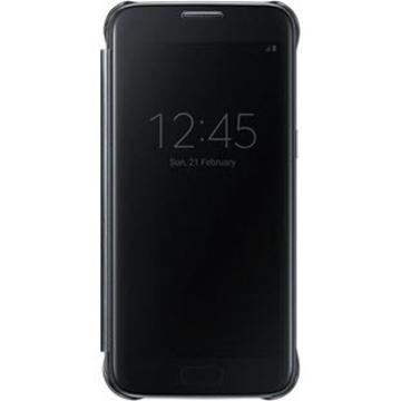 Чехол Samsung Clear View EF-ZG930C Black (для Samsung SM-G930F Galaxy S7)