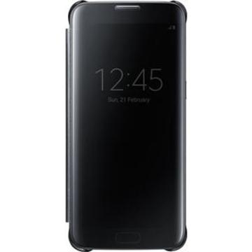 Чехол Samsung Clear View EF-ZG935C Black (для Samsung SM-G935F Galaxy S7 Edge)