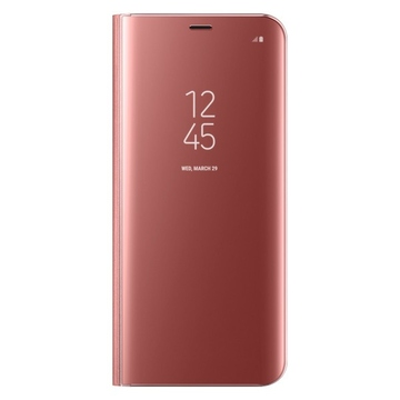 Чехол Samsung Clear View Standing EF-ZG955C Pink (для Samsung SM-G955F Galaxy S8+)
