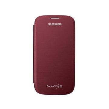 Чехол Samsung Flip Cover EFC-1G6F Red (для Samsung i9300 Galaxy S III)