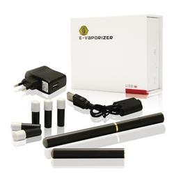 Электронная сигарета E-Cigarette 401 (2 шт. в комплекте, аромат Hilton, 6 картриджей-мундштуков уровня high)
