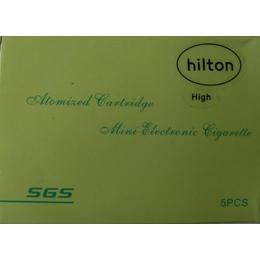 Картридж к электронной сигарете (4 шт. в комплекте, аромат Hilton, уровень High)