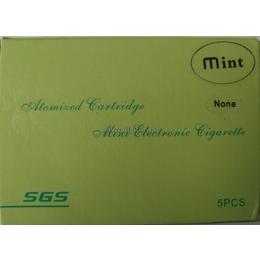 Картридж к электронной сигарете (4 шт. в комплекте, аромат Mint, уровень None)