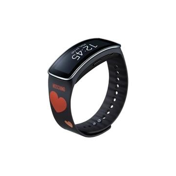 Ремешок Samsung ET-SR350 Red Heart (для Samsung SM-R350 Gear Fit)