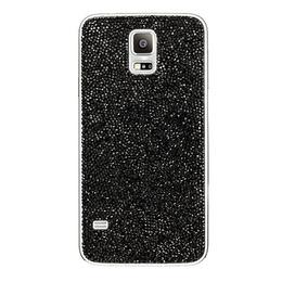 Крышка задняя Samsung Crystal Black (с кристаллами Swarovski, для Samsung Galaxy S5)