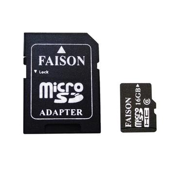 MicroSDHC 16Гб Faison Класс 6 (адаптер)