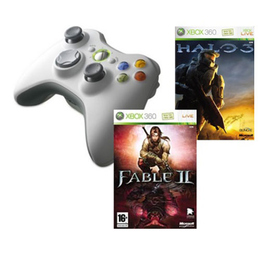 Игра Microsoft Fable 2 (для Xbox 360, 9CS-00110, рус.) + игра HALO 3 (для Xbox 360, DF3-00067)