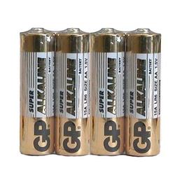 Батарейка GP 15ARS-2SB4 (алкалиновая, (АА), 4 шт., в пленке, 4/96/192/384, срок хранения 7 лет)