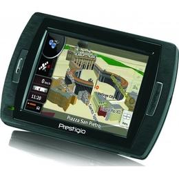 "GPS-навигатор Prestigio Geovision 150 (GPS, IGO 2008, экран 3,5"", 64MB+1GB, карты РФ, Европа)"
