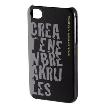 Футляр Hama aha: Croom 3D Black (для iPhone4/4S, пластик, H-103457)