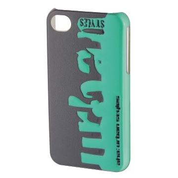 Футляр Hama aha: Grass 3D Grey (для iPhone4/4S, конструктивный доступ ко всем кнопкам, пластик, H-103458)