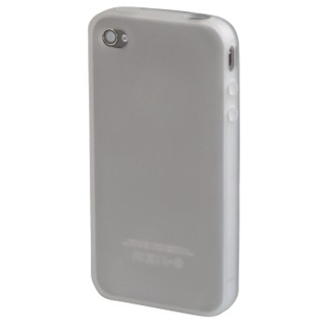 Футляр Hama Transparent (для iPhone4, силикон, H-104586)