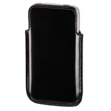 Чехол Hama Sleeve Black (для iPhone 4, кожа, H-104596)