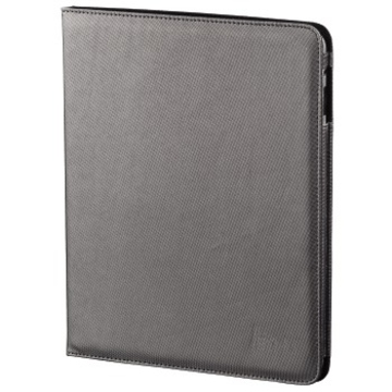 Чехол Hama Arezzo Silver (для iPad, полиэстер, 2 магнитные застёжки, H-104606)