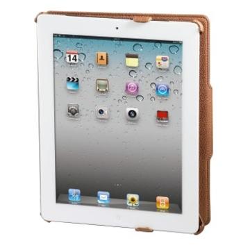 "Чехол Hama Slim Padfolio Brown (для iPad 2, 9.7"", подставка, кожзам, H-104626)"
