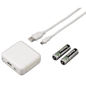 Зарядное устройство Hama H-104847 White (для iPhone 3G/3G S/4/MP3,2 аккум.AA, mini USB, H-104847)