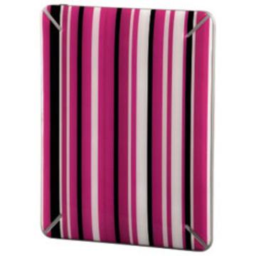 """Наклейка защитная Hama Pinstripe Pink (для корпуса iPad, 9.7"""", самоклеящаяся, розовая в полоску, H-106310)"""