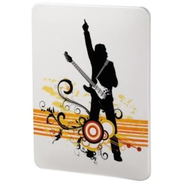 "Футляр Hama Music White (9.7"", поликарбонат, с рисунком, H-106365)"
