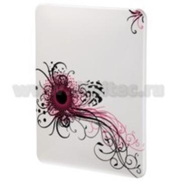 "Футляр Hama Swirly Pink White (9,7"", 24.5x19x1.5см, поликарбонат, H-106366)"