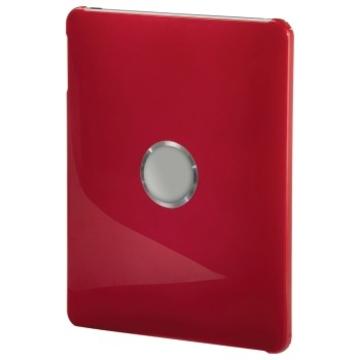 "Футляр Hama Red (9,7"", 24.5x19x1.5см, поликарбонат, двусторонняя защита, H-106372)"
