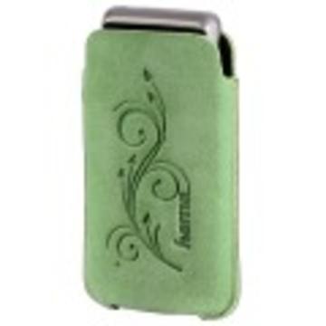 Чехол Hama Nelle Green (для моб. телефонов, 6.5х1.3х11,5 см, замша/кожа)