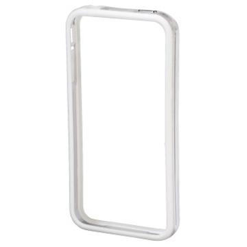 Бампер Hama Edge Protector White (для iPhone 4/4S, пластик, доступ ко всем кнопкам, H-106761)