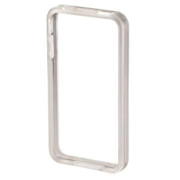 Бампер Hama Edge Protector Transparent (для iPhone 4/4S, пластик, доступ ко всем кнопкам, H-106763)