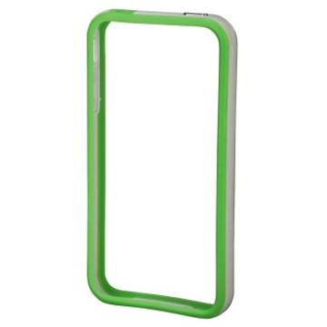Бампер Hama Edge Protector Green White (для iPhone 4/4S, пластик, доступ ко всем кнопкам, H-106764)