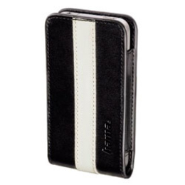 Чехол Hama Sheer Black White (для iPhone 4, кожа, H-107100)