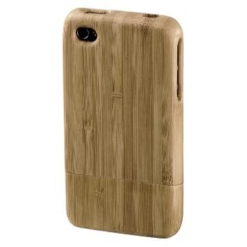 Футляр Hama Bamboo Beige (для iPhone4, бамбук, H-107130)