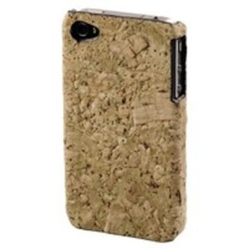 Футляр Hama Cork Beige (для iPhone4, пробковое дерово, H-107142)