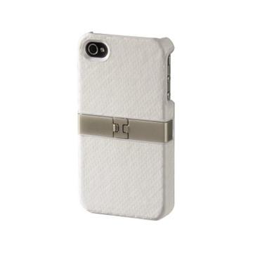 Футляр Hama Stand White (для iPhone4, выдвижная ножка-подставка, пластик, H-107153)
