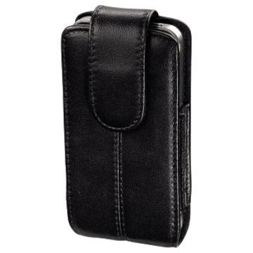 Чехол Hama Pure Black (для iPhone4/4S, кожа, H-107176)