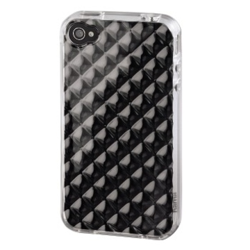 Футляр Hama TPU Transparent (для iPhone4, силикон+пластик, прозрачный, H-107183)