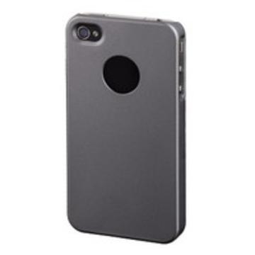 Футляр Hama Rubber Grey (для iPhone4, прорезиненный, пластик)