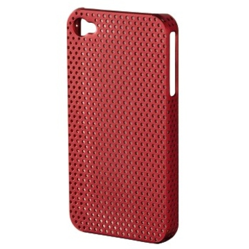 Футляр Hama Air Red (для iPhone 4/4S, пластик, доступ ко всем кнопкам, H-107303)