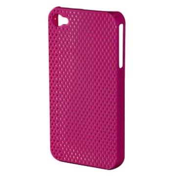 Футляр Hama Air Pink (для iPhone 4/4S, пластик, доступ ко всем кнопкам, H-107304)
