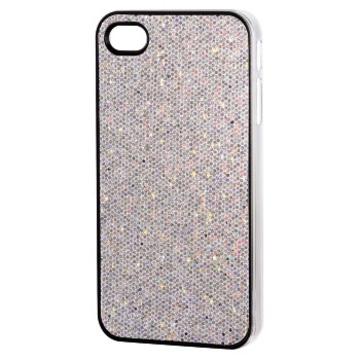 Футляр Hama Fancy Silver (для iPhone 4/4S, пластик, H-107328)