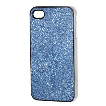 Футляр Hama Fancy Blue (для iPhone 4/4S, пластик, H-107330)