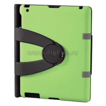 Чехол Hama Padfolio Green (для iPad2, подставка, поликарбонат, H-107855)