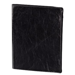 Чехол Hama Alicante Black Grey (для iPad3, нат. кожа, функция подставки, H-107893)