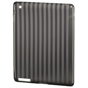 Футляр Hama Stripes Black (для iPad3/4, полиуретан, доступ ко всем кнопкам, H-107896)