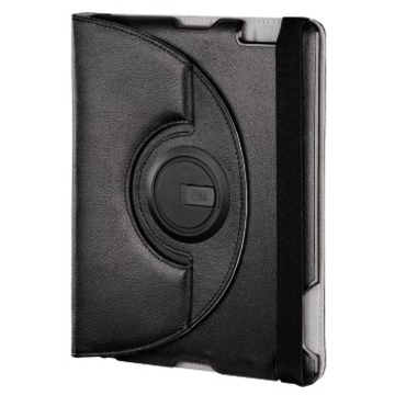 Чехол Hama Padfolio Black (для iPad2/3/4, функция подставки, полиуретан, H-107921)