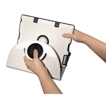 Чехол Hama Padfolio White (для iPad2/3/4, функция подставки, полиуретан, H-107922)